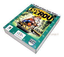 SPIROU für IBM Windows 95 98 PC im großen Karton von Infogrames