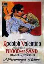 Signe Métallique sang et de sable 1922 01 A4 12x8 aluminium