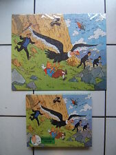 TINTIN /  BOITE  PUZZLES DE 200 PIECES / PRISONERS OF ....ARROW / COMPLET