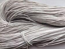 80m White Kumihimo Shamballa Macrame Beading Cord 1mm