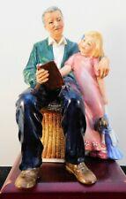"Royal Doulton Figurine ""Grandpa's Story"" Hn3456"