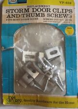 Storm Door Window Screen Clips and Screws Hardware Free Shipping