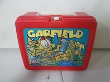 Thermos Garfield Plastic Lunchbox No Thermos