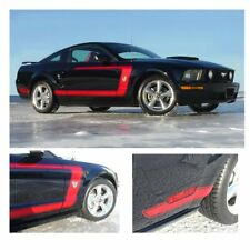 Ford Mustang 2005-2009 Boss Style Side Graphic Kit - Bright Yellow