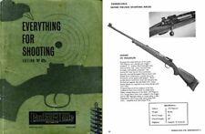 Parker Hale 1962 Guns and Accessories Catalog