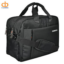 Cairho ProNotch Black Polyester Laptop Office Messenger Bag (16 Liters)