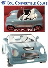"""18"""" Doll 2-Seater Blue CAR Convertible Coupe for My Life As American Girl Boy"""