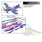 Micro Indoor PP Foam Sport 3D Biplane 450mm Pitts Lightest RC Plane Model HOBBY