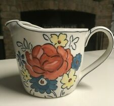 Anthropologie Floral Measuring Cup MOLLY HATCH Pitcher FLOWERPATCH Quart / 4 Cup
