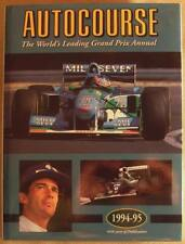 AUTOCOURSE Motor Sport Grand Prix F1 Rally Annual Book 1994 - 95