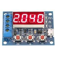 1.2-12V 18650 Li-ion Lead-acid Battery Capacity Meter Discharge Tester Analyzer