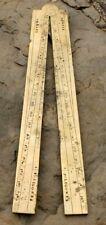 ancien pied du roi en bronze objet de mesure