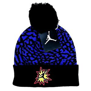NWT New Air Jordan Brand Kids Youth Winter Hat Beanie Elephant Print Size 8-20