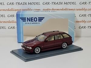 BMW 5er E39 Touring 2002 - Neo Scale Models 1:43 1/43 1-43