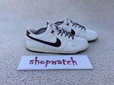 💥 VINTAGE 2008 Nike SB Dunk Low 6.0 White, Black sneakers 314142-105 Size 11