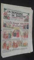 Revista Dibujada La Semana De Suzette que Aparecen El Jueves 1928 N º 42 ABE