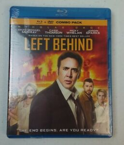 Left Behind (Blu-ray/DVD, 2016) The End Begins Are You Ready? NEW SEALED