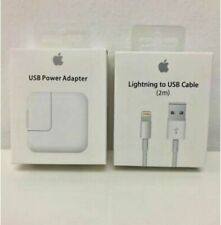 Original 2M Cable & 12W USB Power Adapter Wall Charger for Apple iPad 2 3 4 Air