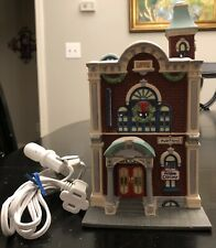 Dept 56 Christmas in the City Arts Academy 1991 5543-3 Heritage Village Complete