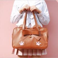 Japan High School Lolita Cat Claw JK Uniform Shoulder Bag Cosplay Girls Handbag