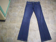 A B S Boot Cut Lo-Rise 5 Pocket Cotton Stretch Jeans 29X33 Women 29 #4015