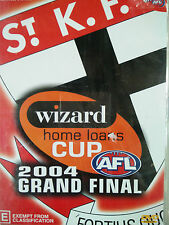 D3 BRAND NEW SEALED AFL Grand Final St Kilda 2004 Wizard Cup Premiers (DVD 2004)
