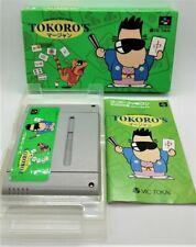 Genuine Tokoro's Mahjong Video Game for Nintendo Super Famicom JAPANESE BOXED