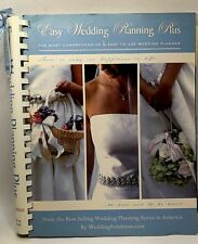 Easy Wedding Planning Plus The Most Comprehensive Easy Wedding Planner Unused