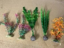 Artificial Aquarium Fish Tank Plants - Decorations, Not Live.