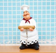 Home Decor Kitchen Bar Restaurant Ornament Figure Statue Chef Wine Bottle Opener