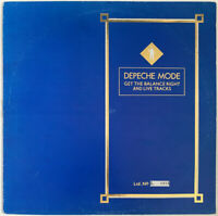 """DEPECHE MODE GET THE BALANCE RIGHT 12"""" MUTE UK LTD NUMBERED PRO CLEANED"""