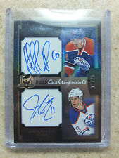 13-14 The Cup Enshrinements Dual Auto NAIL YAKUPOV / JUSTIN SCHULTZ /25