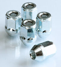 5 x wheel closed nuts luga bolts . M12 x 1.25, 19mm Hex, Tapered Seat