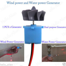 Mini Wind Turbines Generator Hydraulic Generator Small Motor Toy Project DIY Kit