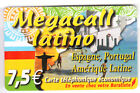 FRANCE TELECARTE / PHONECARD PREPAYEE .. 7€50 DELTA BRESIL BRASIL RIO 12/08+N°