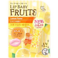Mentholatum Japan Lip Baby Fruits Lip Balm Cream (4.5g/0.15 fl.oz) - Lemon