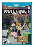 Minecraft: Wii U Edition - Wii U Standard Edition [video game]
