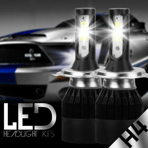 488W 48800LM Dual Side LED Headlight Kit H4 HB2 9003 Hi/low beams HID 6000K Bulb