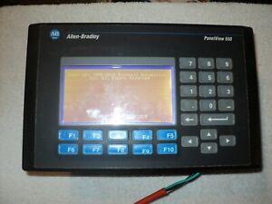 Allen Bradley PanelView 550 2711-B5A15 Ser H FRN 4.48