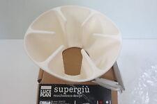 Luceplan Supergiù Guarnizione VERDE colora l'emissione della luce al soffitto