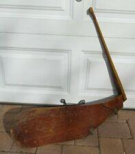 Vintage Wooden Sailboat Tiller Rudder