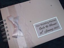 Personalised Wedding Planner / Guest Book New in box