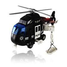 Police Helicopter Toy with Flashing Lights & Sounds Great Gift For Boys, Girls