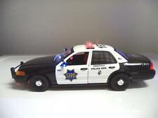 SFPD Ford Crown Victoria 1/18 San Francisco K-9 Police Diecast Lights & SIREN