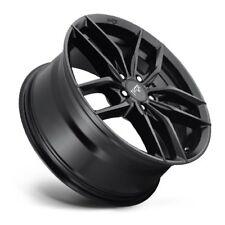 17x8 NICHE VOSSO M203 5x108 +40 Matte Black Wheels New Set