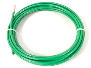 100' FEET THHN THWN-2 8 AWG GAUGE GREEN STRANDED COPPER BUILDING WIRE VW-1