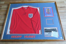 GEOFF HURST SIGNED WORLD CUP SHIRT