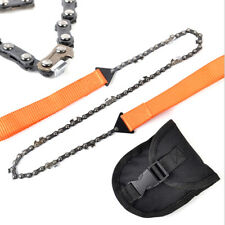 Pocket Sized Survival Hand Chain Saw Bush Craft Saw Outdoor Camping Garden
