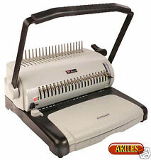Akiles EcoBind-C Comb Binding Machine & Punch 12-inch [New]
