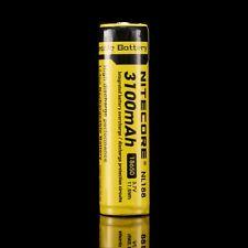 Nitecore NL188 3100mAh 18650 Rechargeable battery
